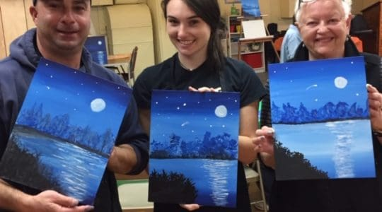 Another Successful Paint Night!
